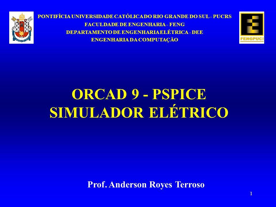 1 PONTIFÍCIA UNIVERSIDADE CATÓLICA DO RIO GRANDE DO SUL - PUCRS FACULDADE DE ENGENHARIA - FENG DEPARTAMENTO DE ENGENHARIA ELÉTRICA - DEE ENGENHARIA DA