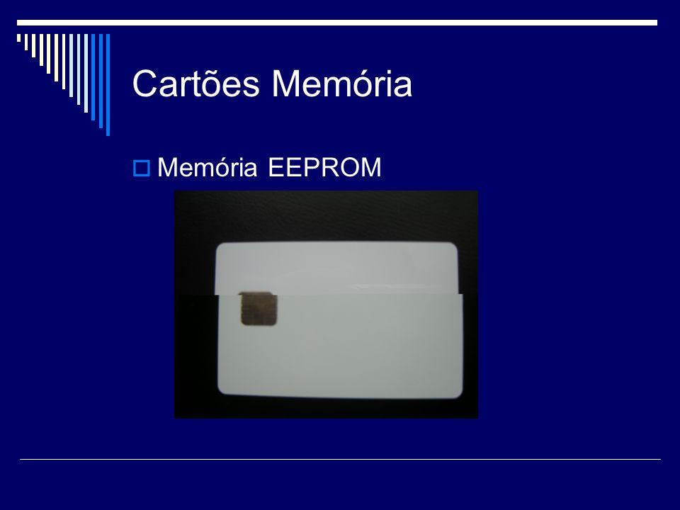 Cartões Memória Memória EEPROM