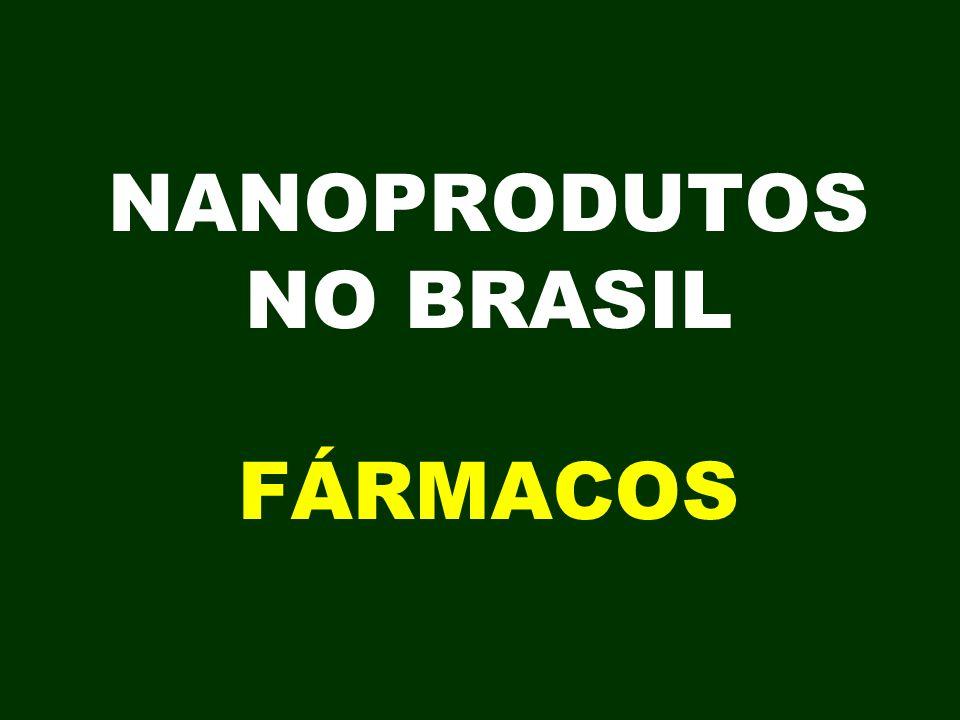 NANOPRODUTOS NO BRASIL FÁRMACOS
