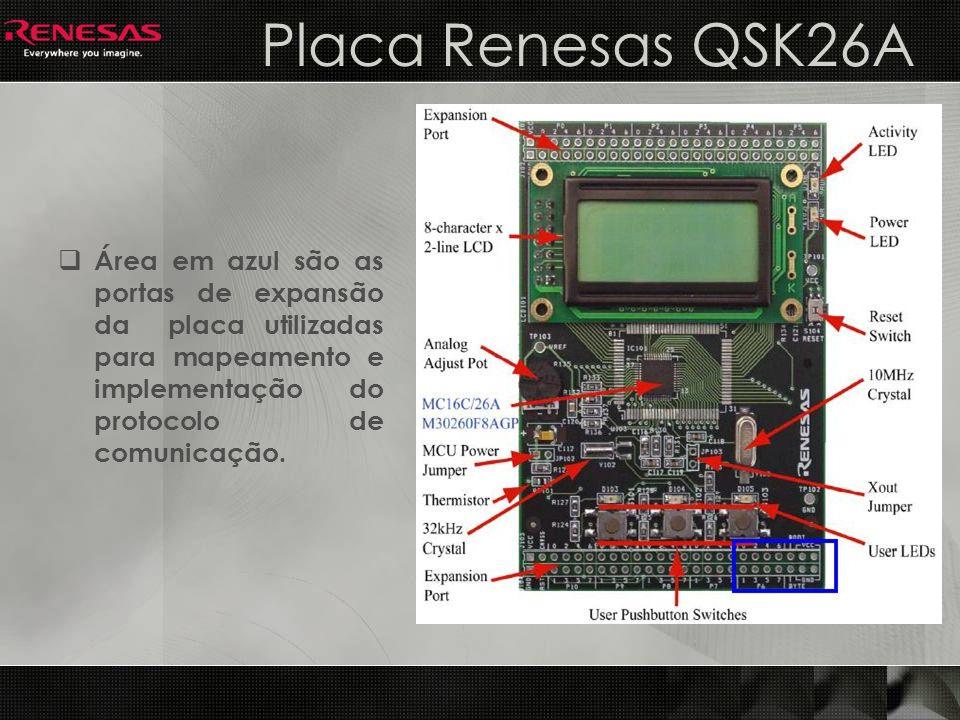 Criando o Projeto 1 Ao criar um novo projeto selecionar o kit QSK26A