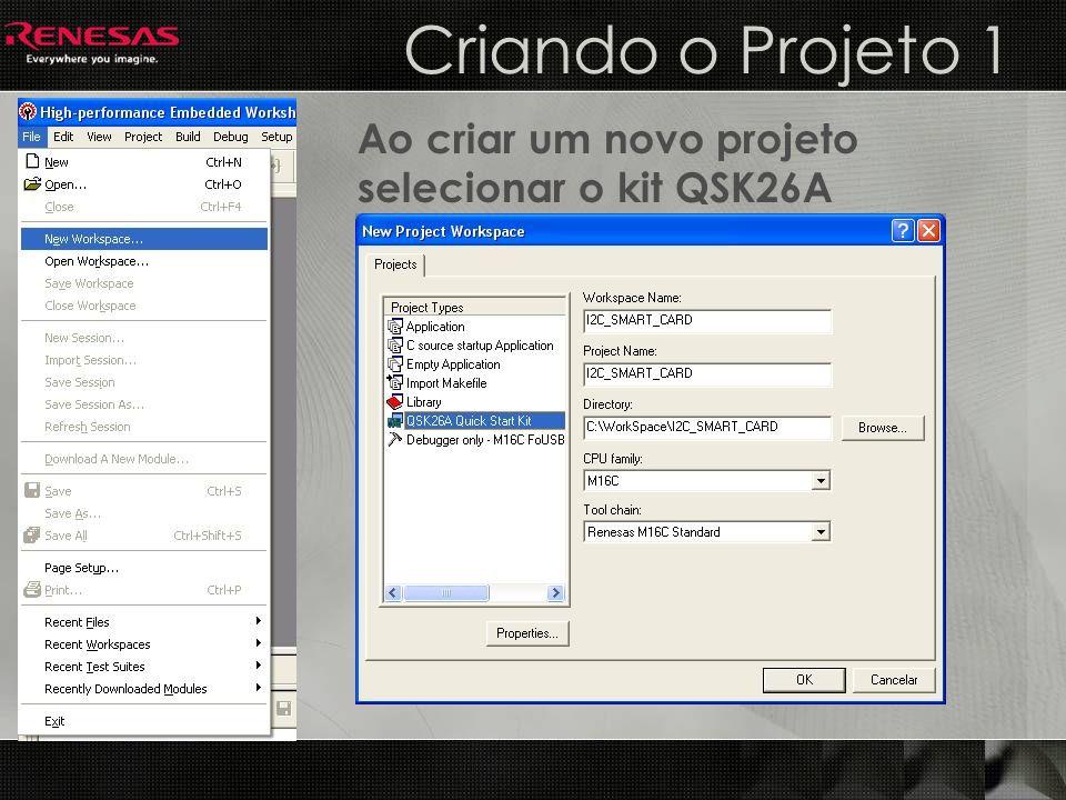 Criando o Projeto 2 Criar um projeto vazio