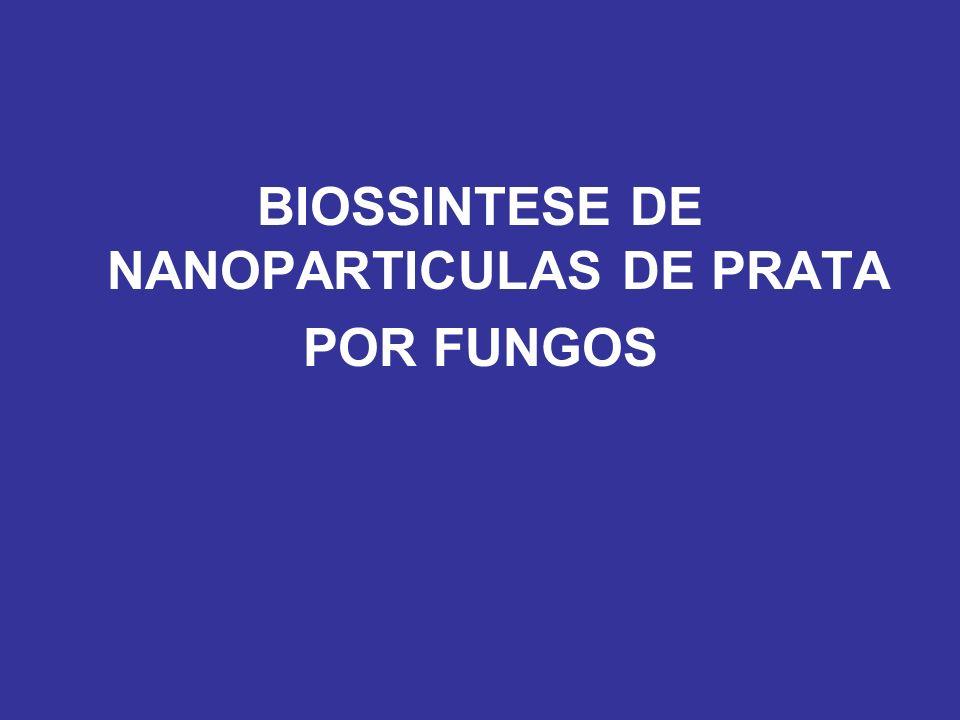 Fusarium oxysporum Ahmad et al.Colloids Surf. B. Biointerfaces 2003, 28, 313-318.
