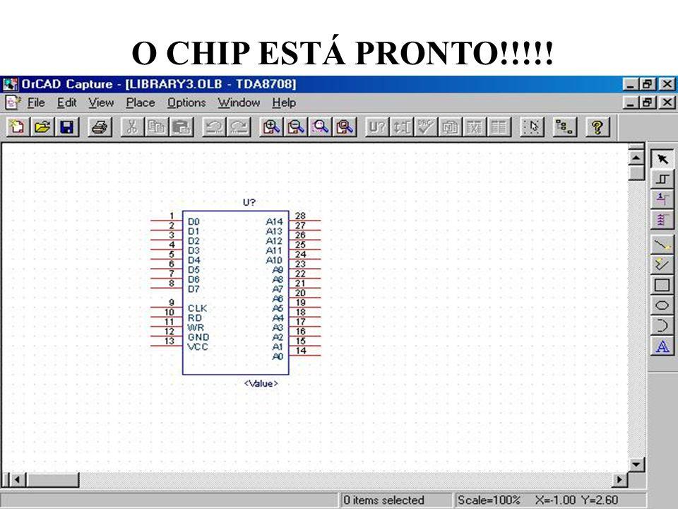 O CHIP ESTÁ PRONTO!!!!!