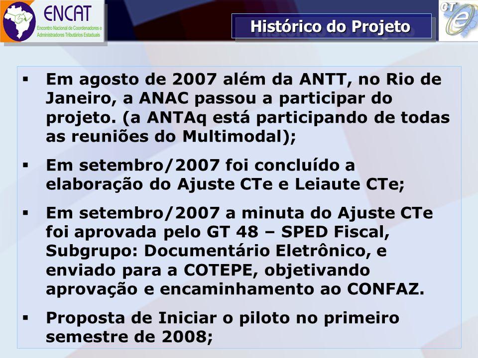 Soluções Tecnológicas em Administração Tributária ENCAT – ENCONTRO NACIONAL DE COORDENADORES E ADMINISTRADORES TRIBUTÁRIOS ESTADUAIS Em agosto de 2007