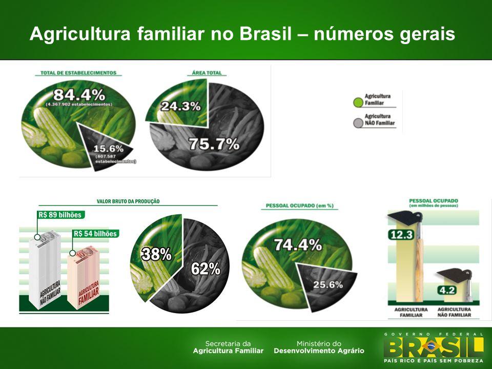Agricultura familiar no Brasil – números gerais