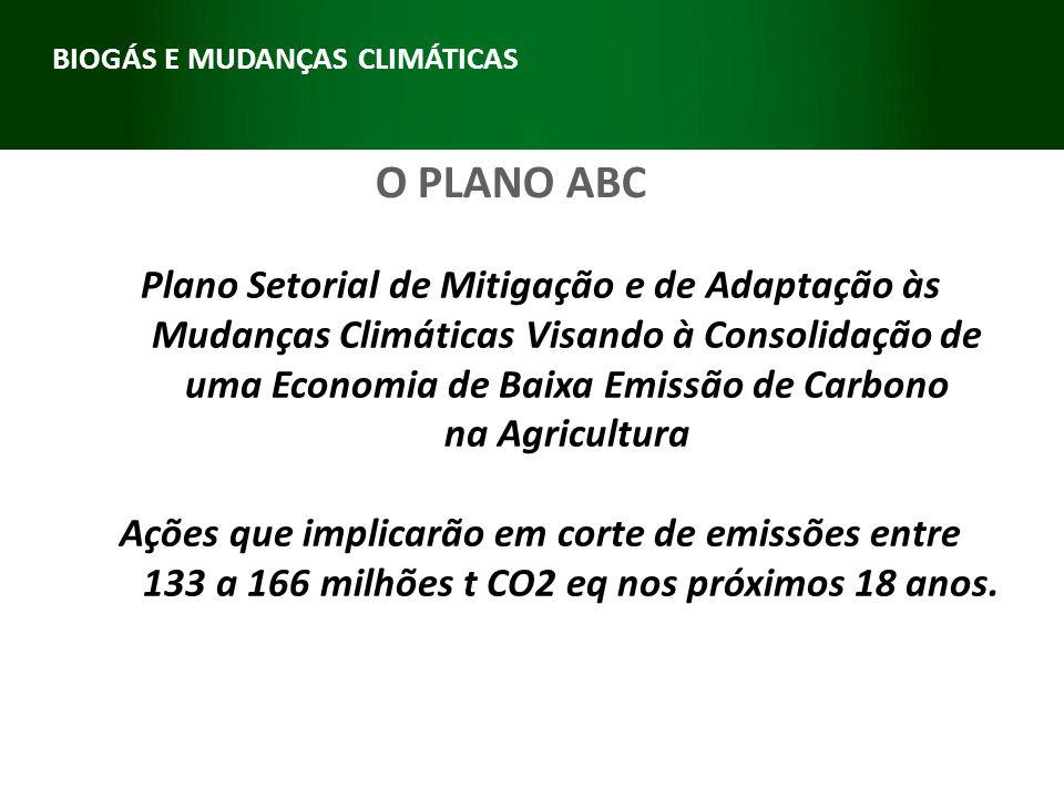 Plano Setorial de Mitigação e de Adaptação às Mudanças Climáticas Visando à Consolidação de uma Economia de Baixa Emissão de Carbono na Agricultura Aç