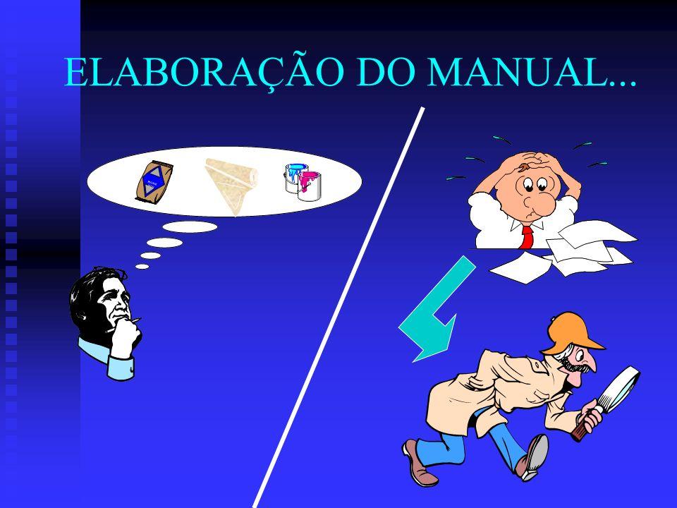 PIGME NTO ELABORAÇÃO DO MANUAL...