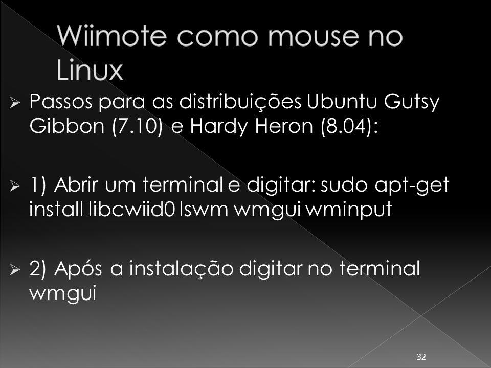 3) Clicar no menu File, clicar em Connect e apertar os botões 1 e 2 ao mesmo tempo para conectar o Wiimote e clicar em OK.