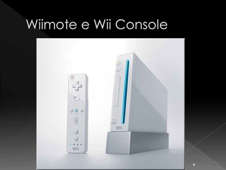 O Wiimote se comunica com o Wii Console via Bluetooth e através de leds infravermelhos posicionados no sensor bar do Console.
