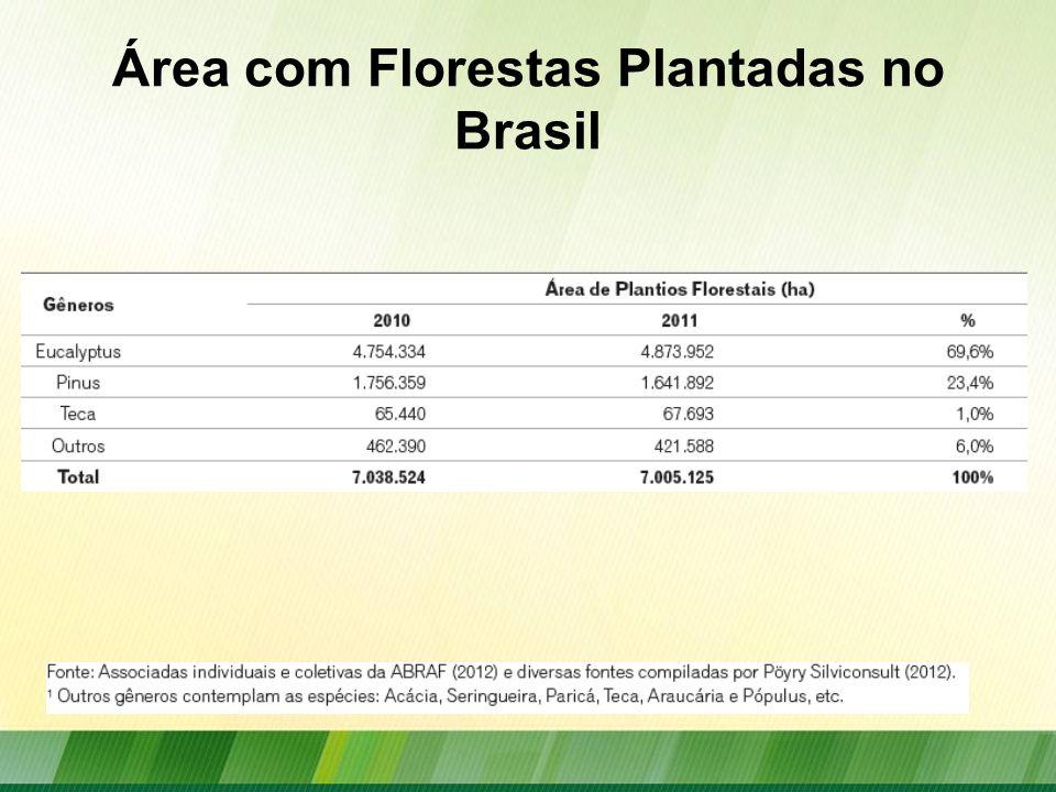 Florestas Plantadas no Mundo 2010