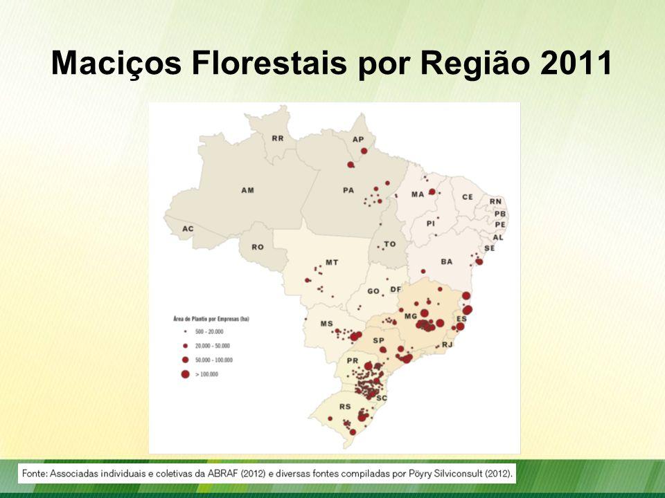 Destino dos Produtos do Setor Florestal 2011