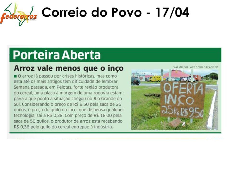 Correio do Povo - 17/04