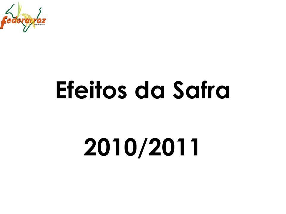 Efeitos da Safra 2010/2011