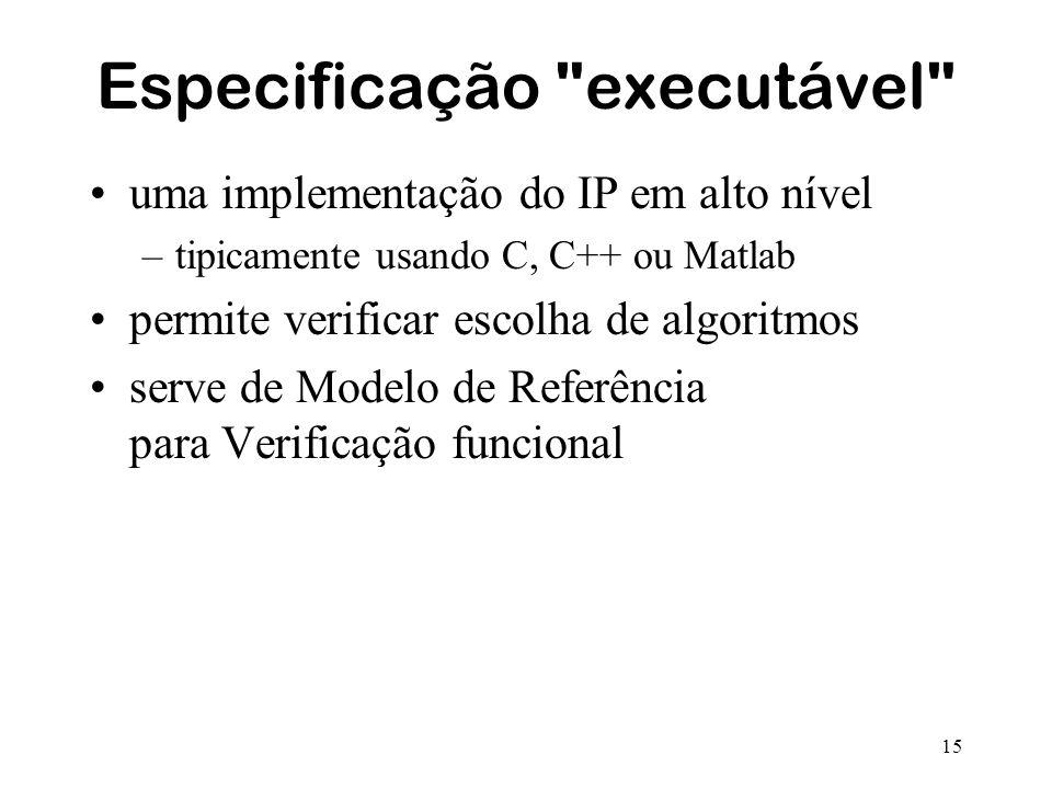 15 Especificação