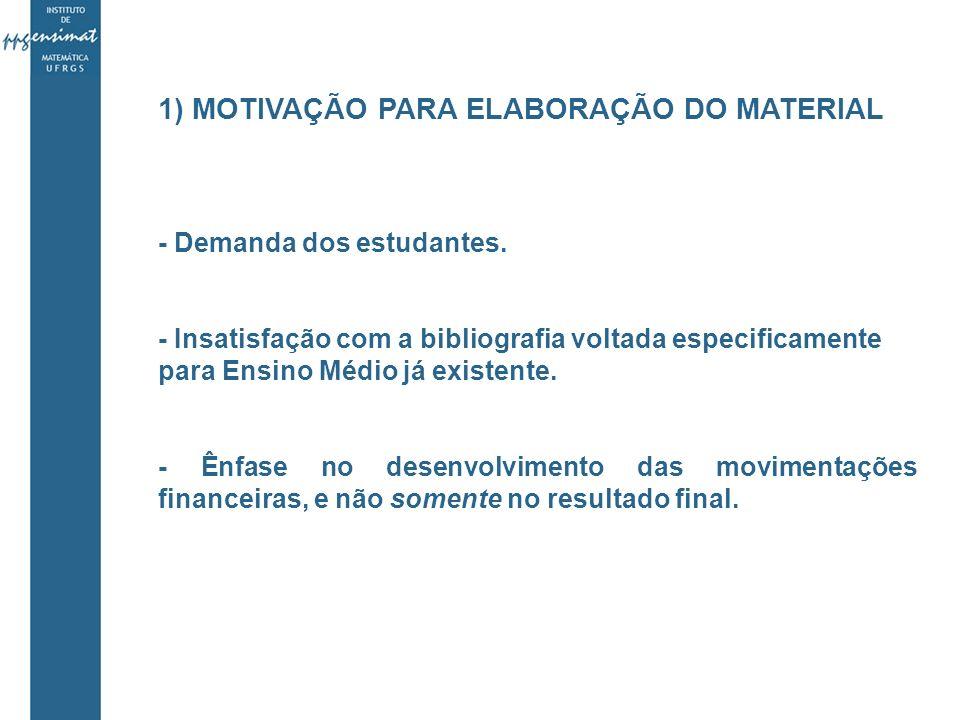 5) TÉCNICAS E MATERIAIS - Material aplicado com todos os estudantes do 2º ano do Ensino Médio de um colégio particular de Porto Alegre, em horário regular.