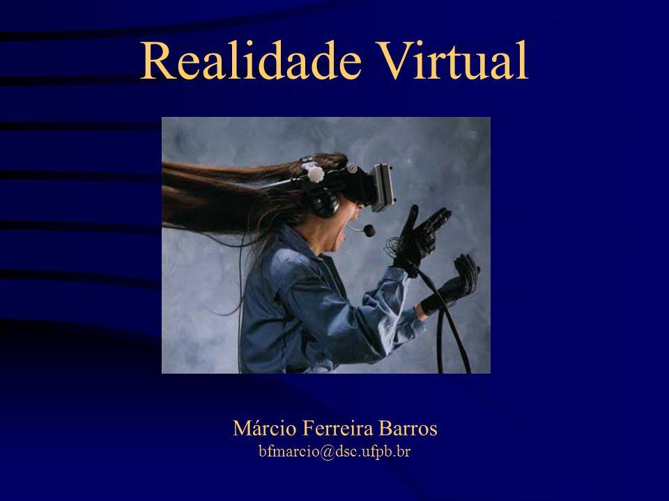 Roteiro Interfaces Não-Convencionais; Definição de RV; Contextualização Historica da RV; Ambientes Virtuais Distribuídos; Periféricos para RV; Aplicações; RV em Medicina; Referências;