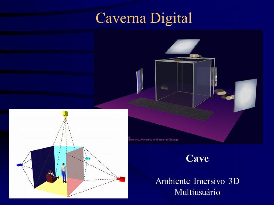 Periféricos para Realidade Virtual Digitalizador 3D Sensores Especializados