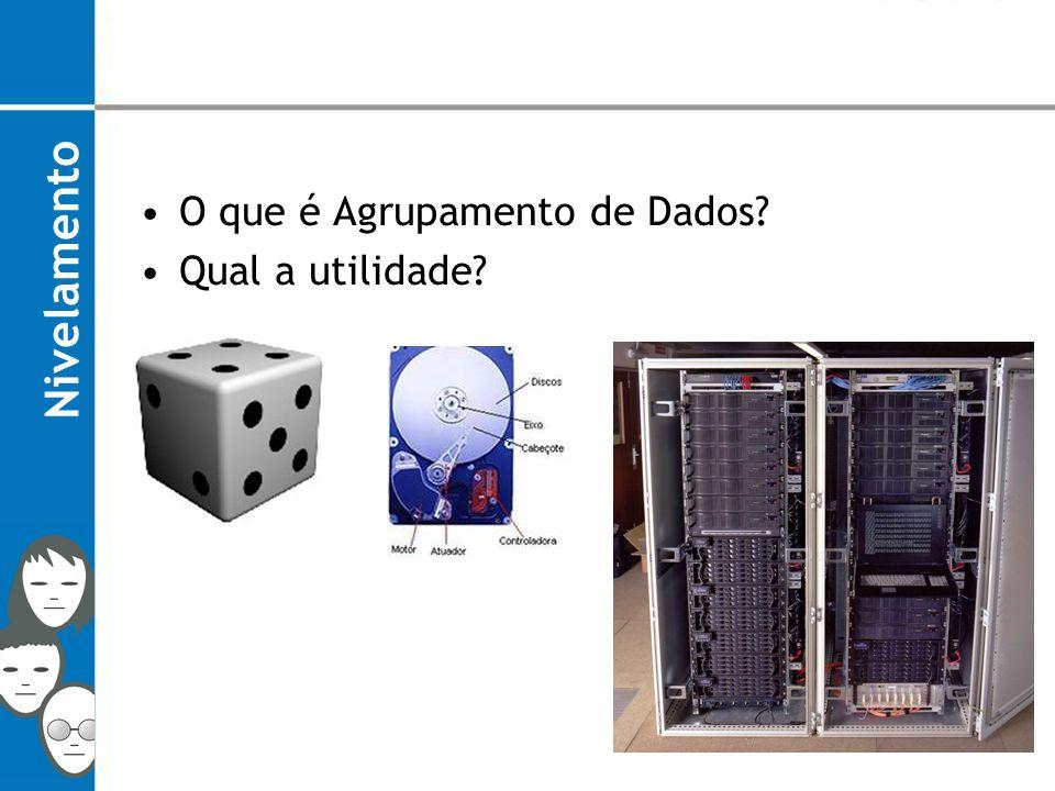 Contextualização; Processo de Agrupamento; Agrupamento de Dados; Uma Aplicacão: Mineração de Dados; Considerações Finais.