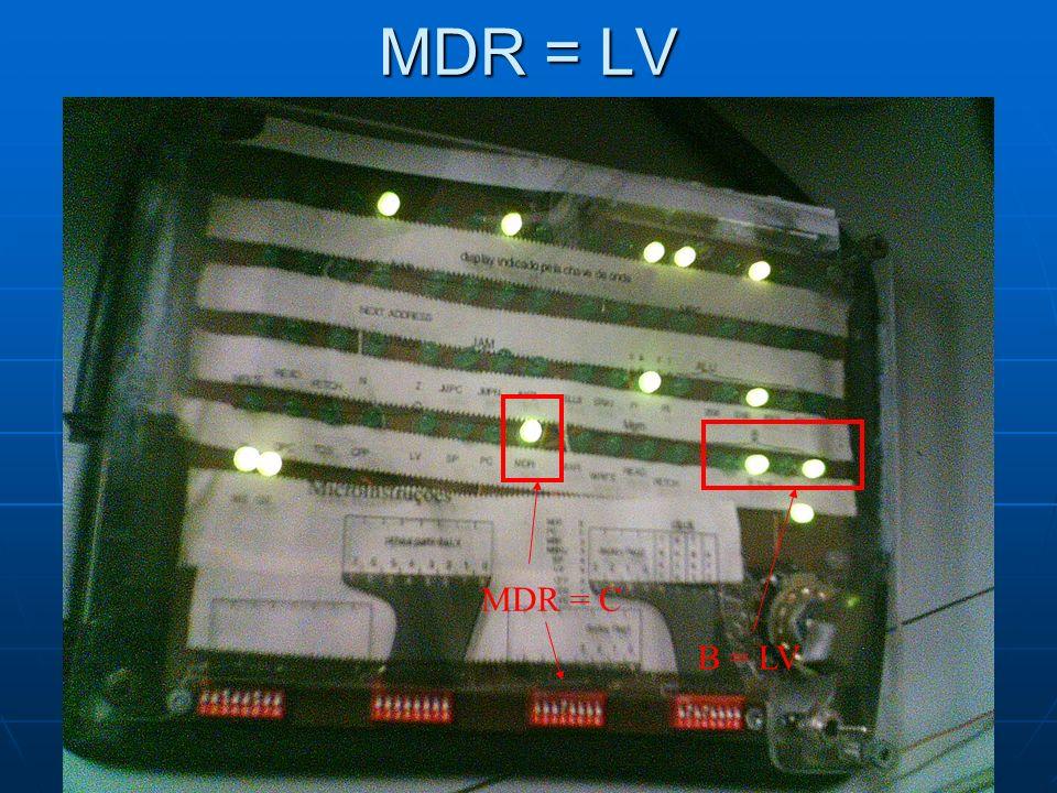 MDR = LV B = LV MDR = C