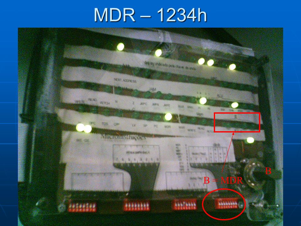 MDR – 1234h B = MDR B