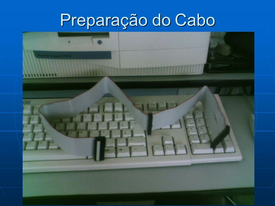 Preparação do Cabo