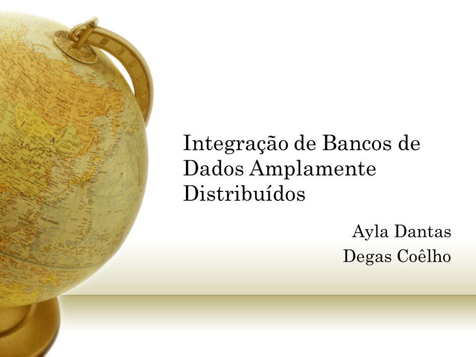 Integração de Bancos de Dados Amplamente Distribuídos Ayla Dantas Degas Coêlho