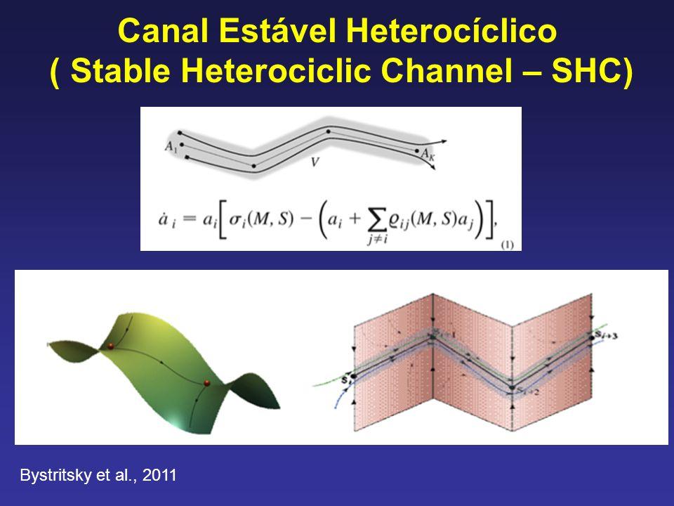 Canal Estável Heterocíclico ( Stable Heterociclic Channel – SHC) Bystritsky et al., 2011