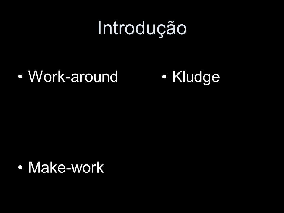 Kludge – Definição(2) Wikipedia: Um Kludge é uma solução desajeitada ou deselegante para um problema, tarefa ou conserto de um sistema (hardware ou software), mas que, não obstante, funciona.