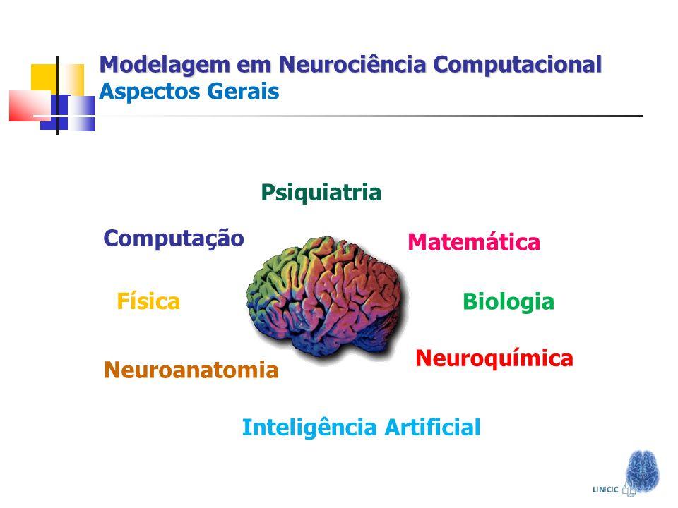 Modelagem em Neurociência Computacional Modelagem em Neurociência Computacional Aspectos Gerais Neuroanatomia Neuroquímica Psiquiatria Matemática Comp