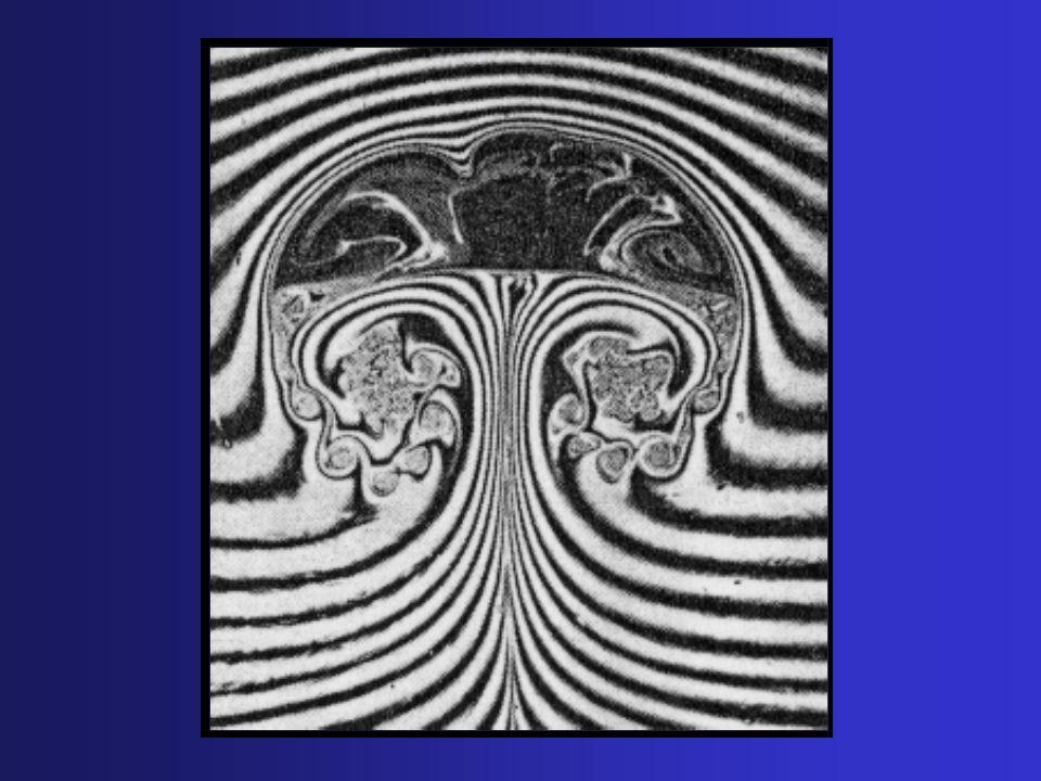 Chega-se a: Aplica-se agora um novo filtro G, de comprimento característico superior ao comprimento do primeiro filtro, sobre a equação seguinte: Turbulência nos Fluidos