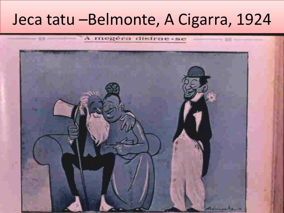 Jeca tatu –Belmonte, A Cigarra, 1924