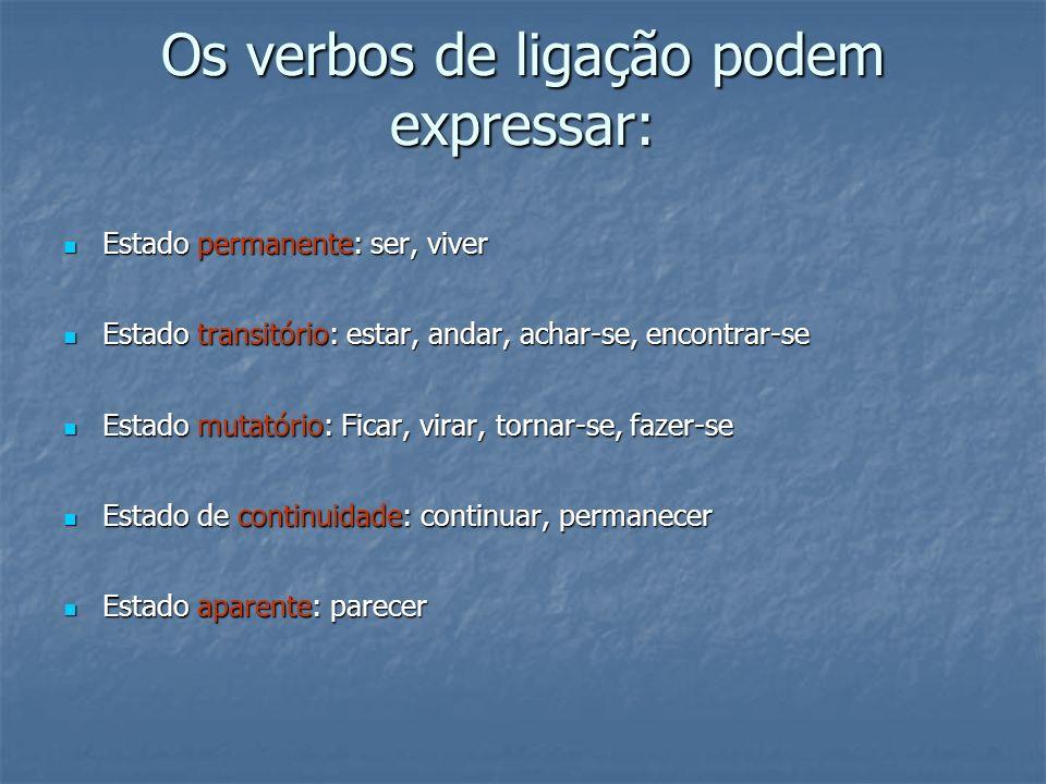 Exemplo: Romário continua feliz.Sujeito: Romário Predicado nominal: continua feliz.
