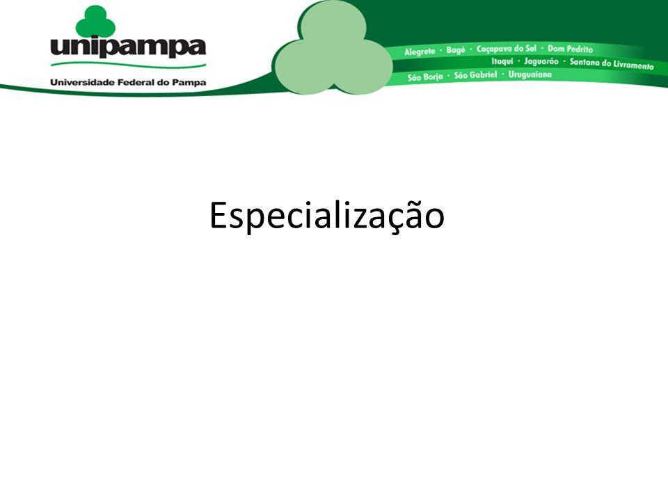 Especialização