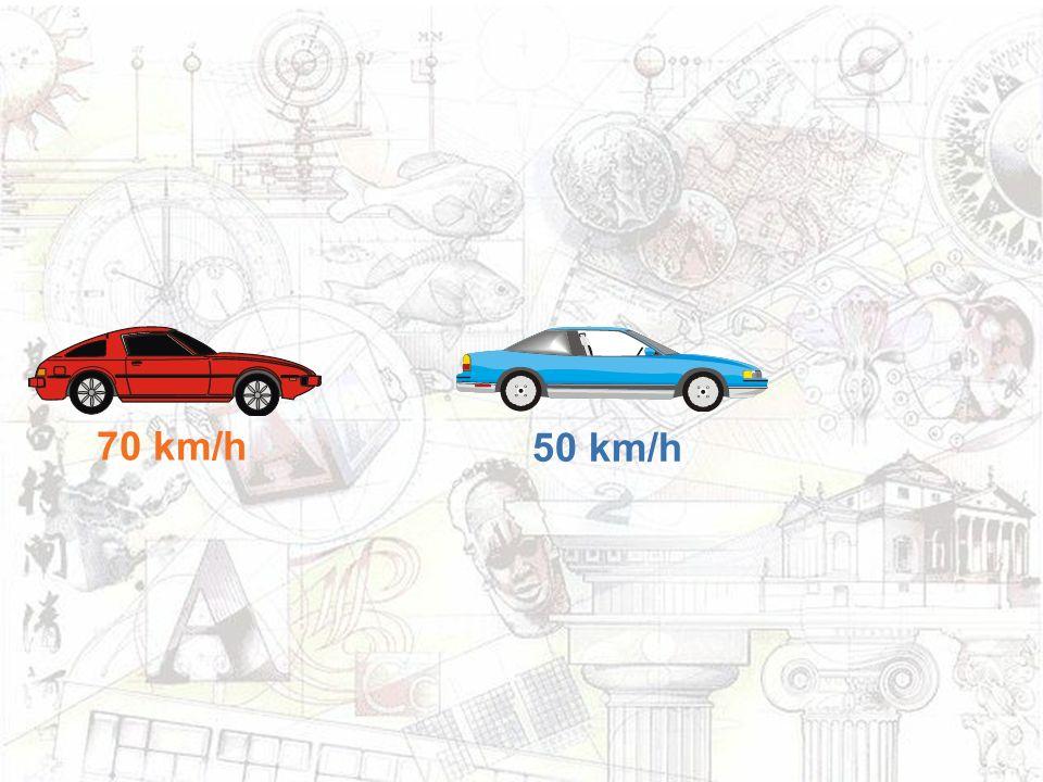 70 km/h 50 km/h