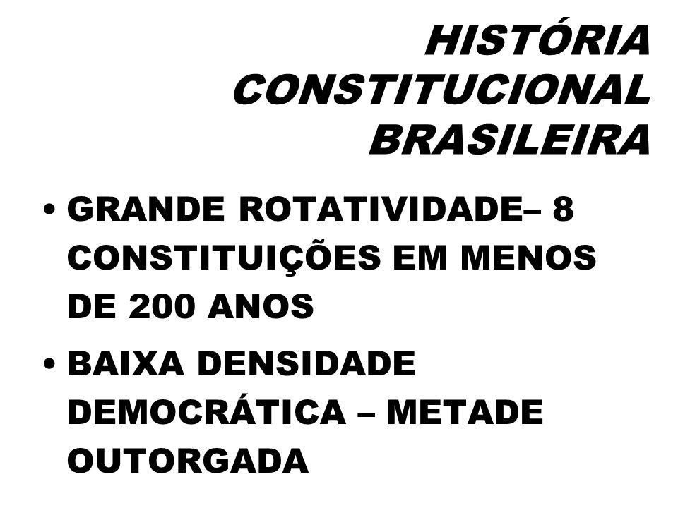 CONSTITUIÇÃO DE 1969 OUTORGADA POR UMA JUNTA MILITAR IMPOSTA ATRAVÉS DE UMA EMENDA CONSTITUCIONAL (EC N.