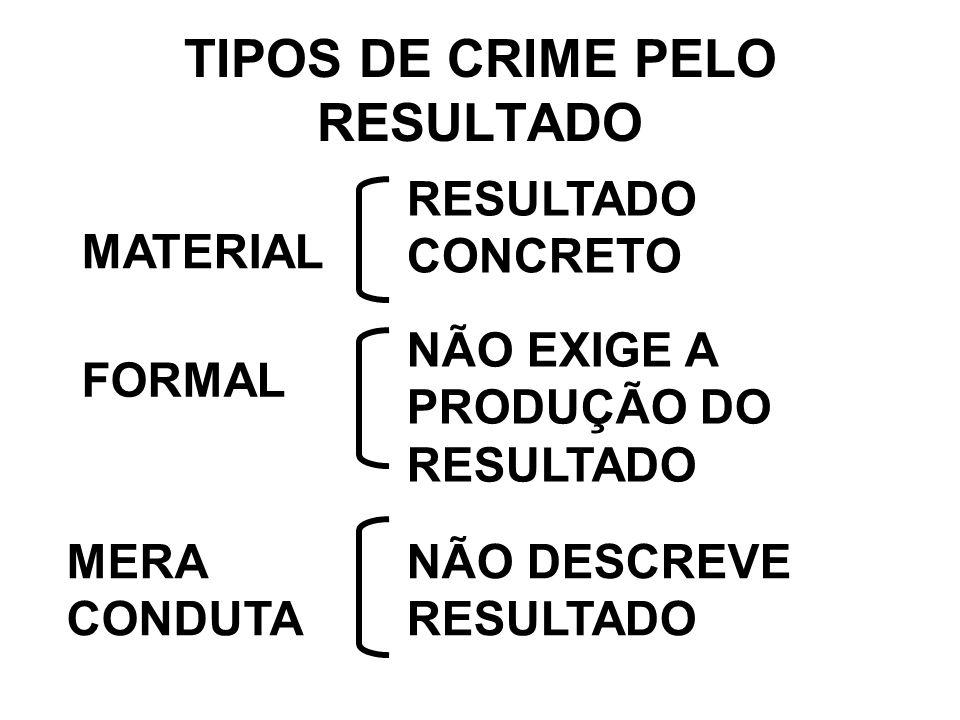 CONSCIENTE ( RESULTADO PREVISTO) – CASO DO POLICIAL QUE ATIRA NO BANDIDO E MATA O COLEGA DE TRABALHO.