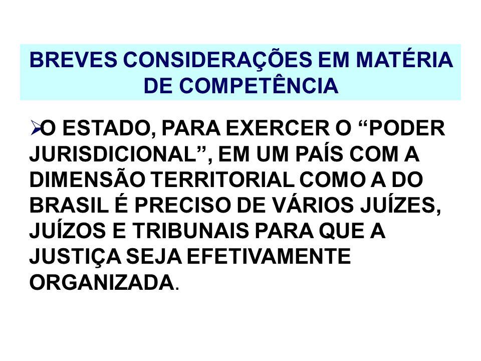 CONFLITO DE COMPETÊNCIA OCORRE QUANDO DOIS OU MAIS JUÍZES RECLAMAREM OU REJEITAREM A COMPETÊNCIA DE UM MESMO PROCESSO.