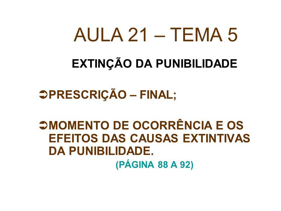 PRESCRIÇÃO SUPERVENIENTE ART.