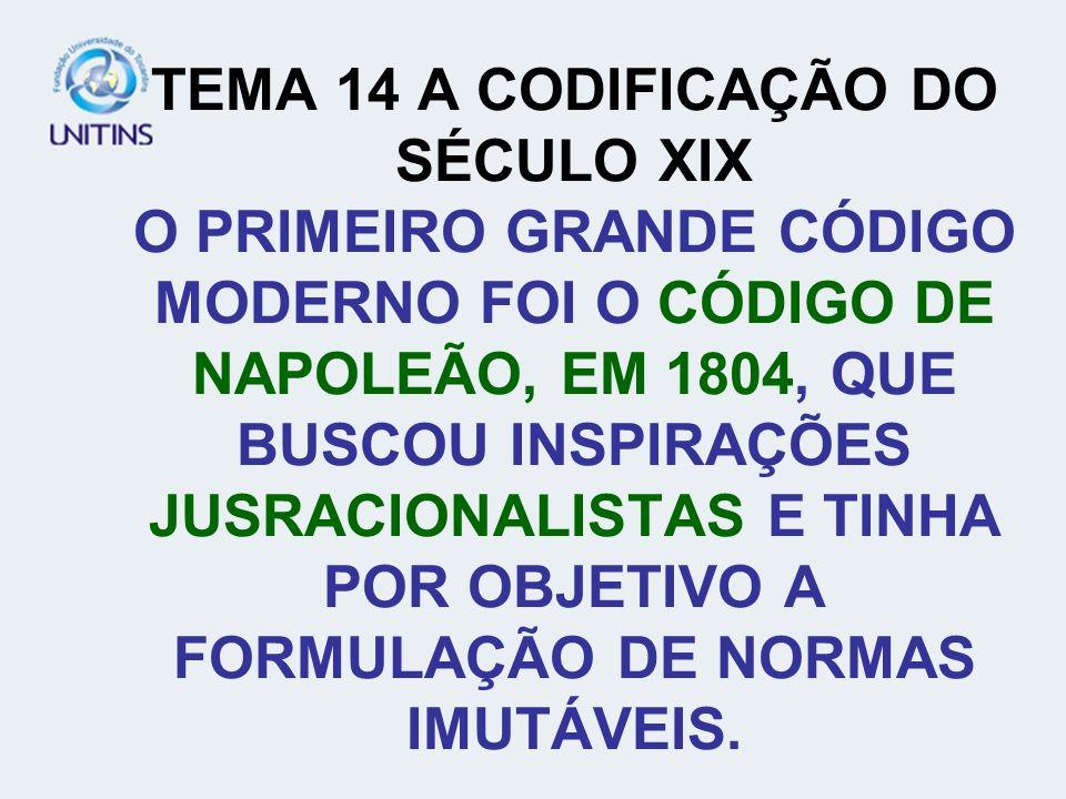 TEMA 12: O NORMATIVISMO JURÍDICO É A NORMATIZAÇÃO DO DIREITO, A CODIFICAÇÃO DAS REGRAS QUE SÃO AS NORMAS JURÍDICAS, DEFENDEM QUE A NORMA JURÍDICA É O