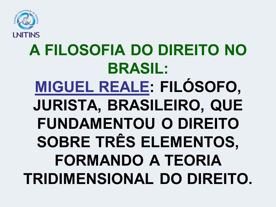 A FILOSOFIA DO DIREITO NO BRASIL: TOBIAS BARRETO: FOI FILÓSOFO, JURISTA, UM DOS PRINCIPAIS NOMES BRASILEIROS NA FILOSOFIA DO DIREITO. CONCEITUAVA O DI