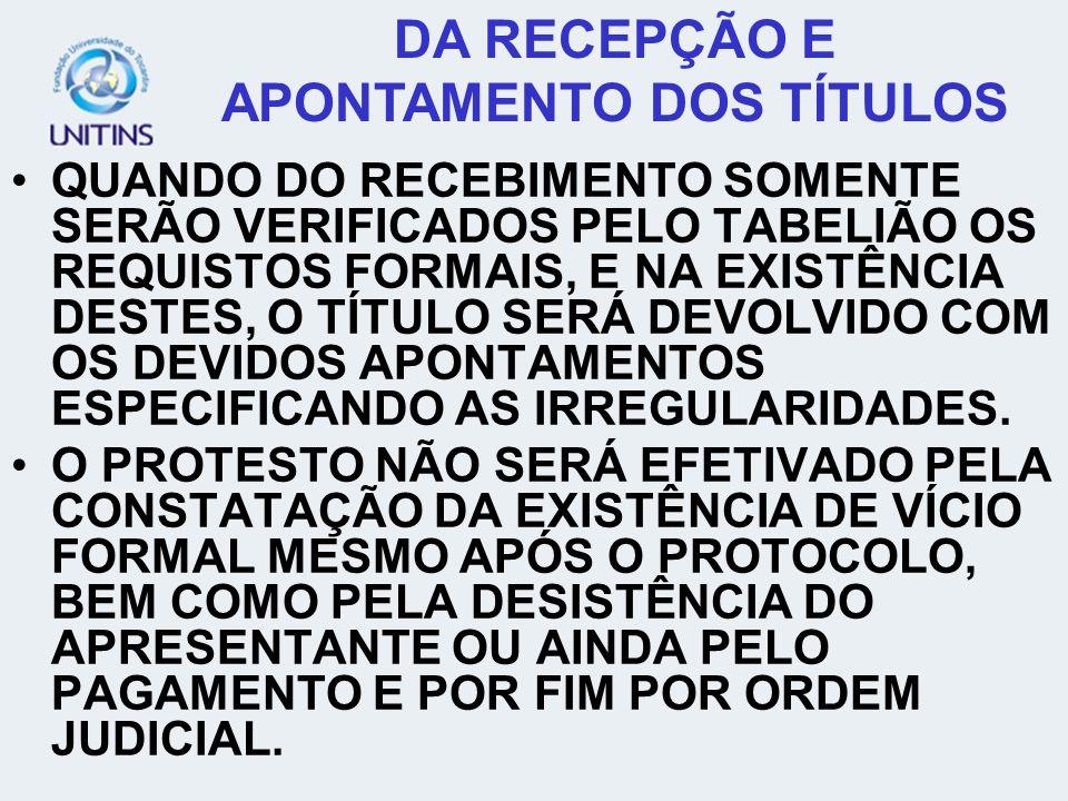 GENERALIDADES SEU REGIME JURÍDICO ESTÁ NAS LEIS Nº 8.935/97, 9.492/97 E 9.841/98.