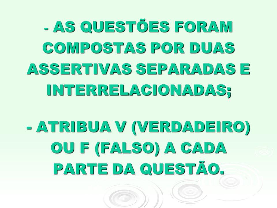 1A.O CONTROLE DE CONSTITUCIONALIDADE DEVE-SE AO FATO DA CONSTITUIÇÃO SER A LEI MAIOR DO PAÍS...