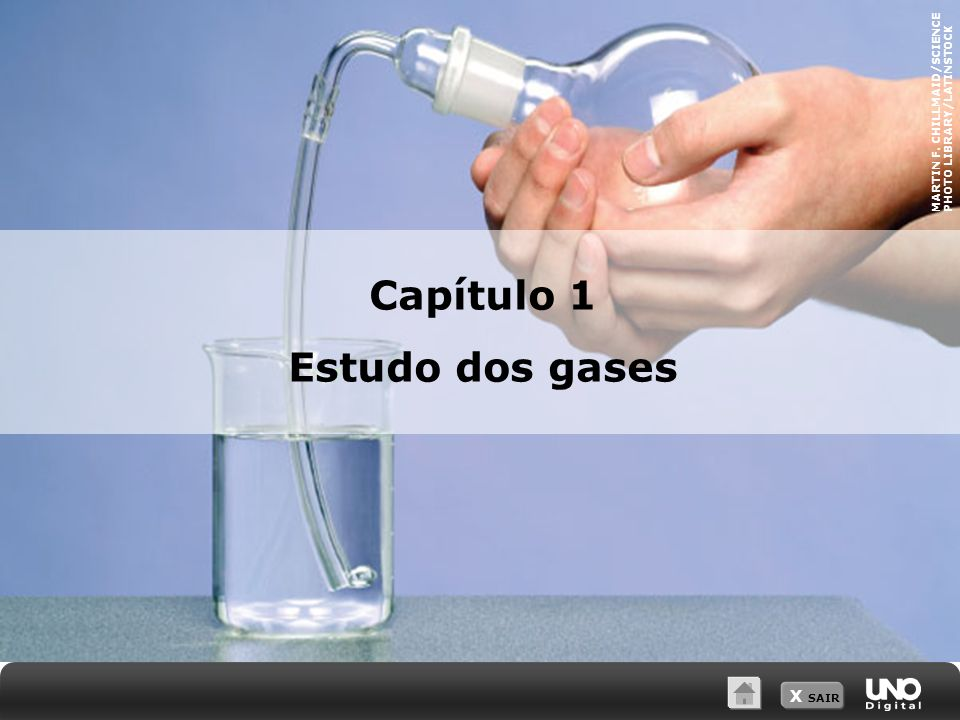 X SAIR Capítulo 1 Estudo dos gases MARTIN F. CHILLMAID/SCIENCE PHOTO LIBRARY/LATINSTOCK