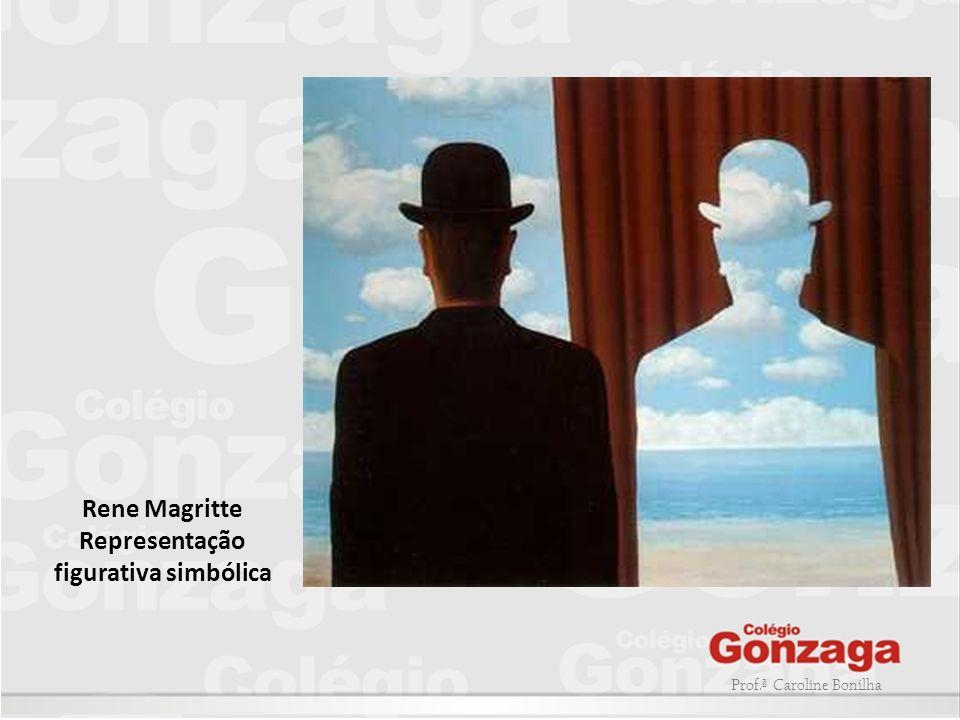 Prof.ª Caroline Bonilha Rene Magritte Representação figurativa simbólica