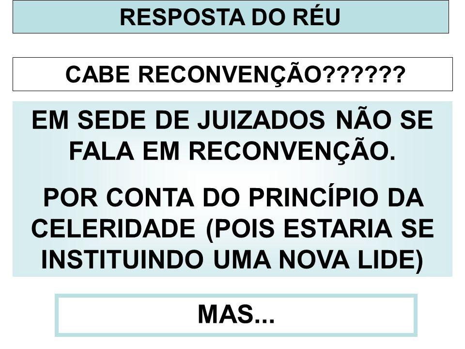 RESPOSTA DO RÉU...