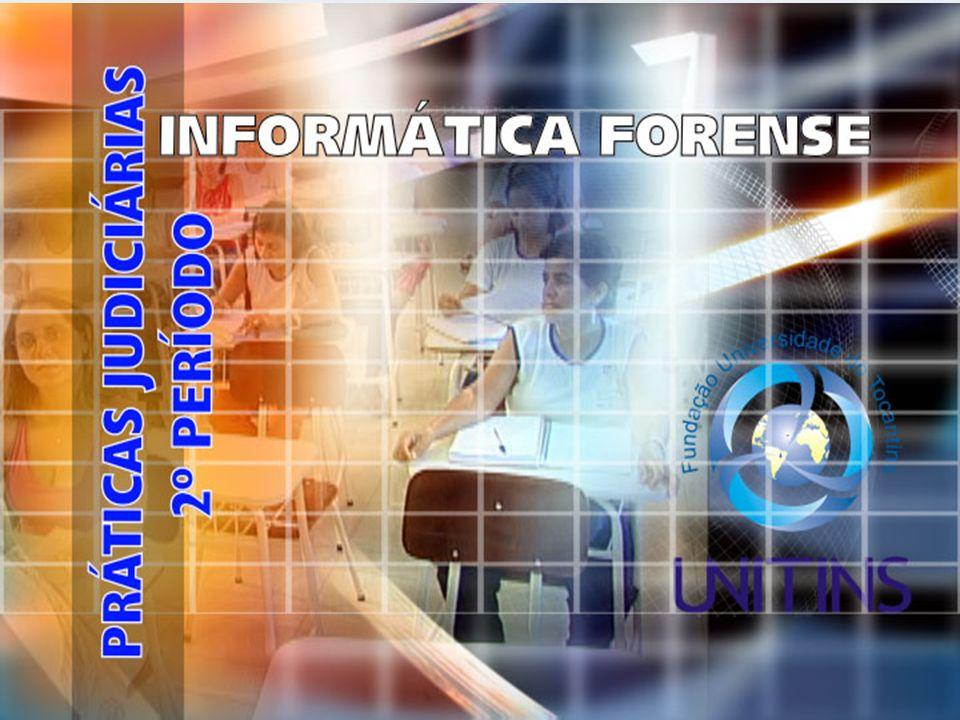 TEMA 12 – INTERNET E NOMES DE DOMÍNIO INFORMÁTICA FORENSE PROF.