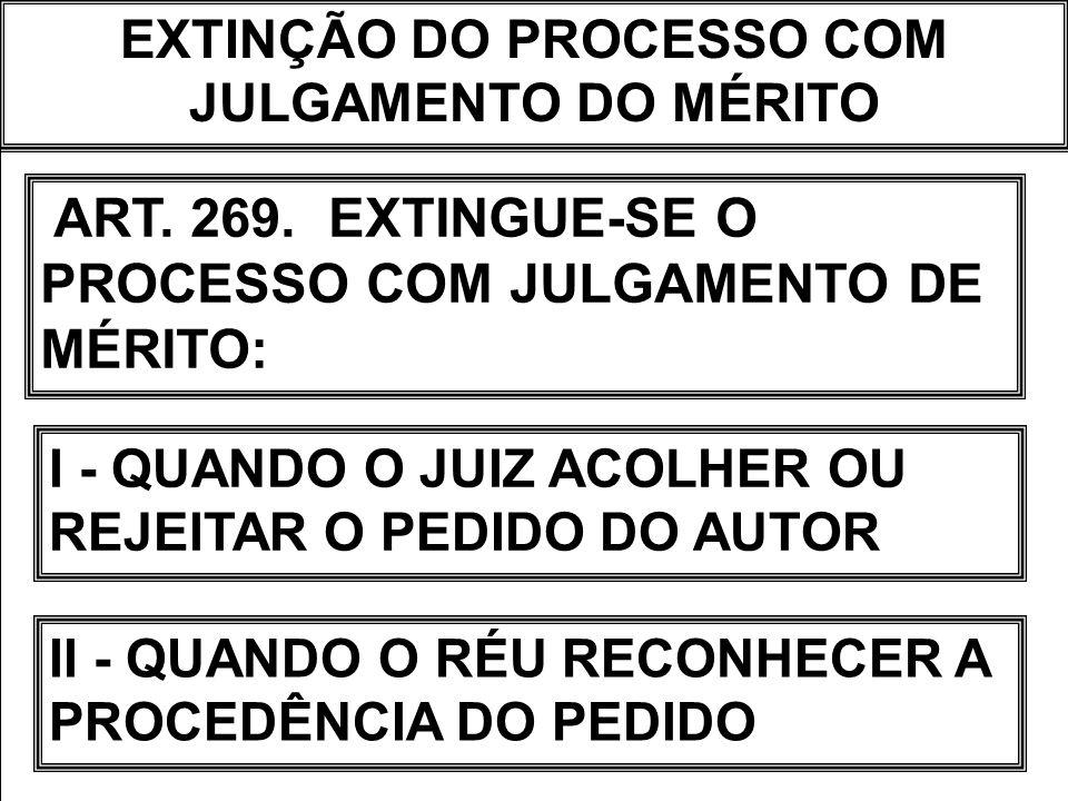 A PETIÇÃO INICIAL FIXA O VALOR DA CAUSA (ART.