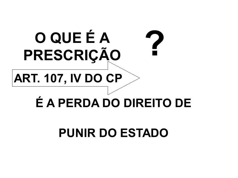 REDUÇÃO DO PRAZO PRESCRICIONAL ALTERAR A FORMA DE CONTAGEM DO ART.
