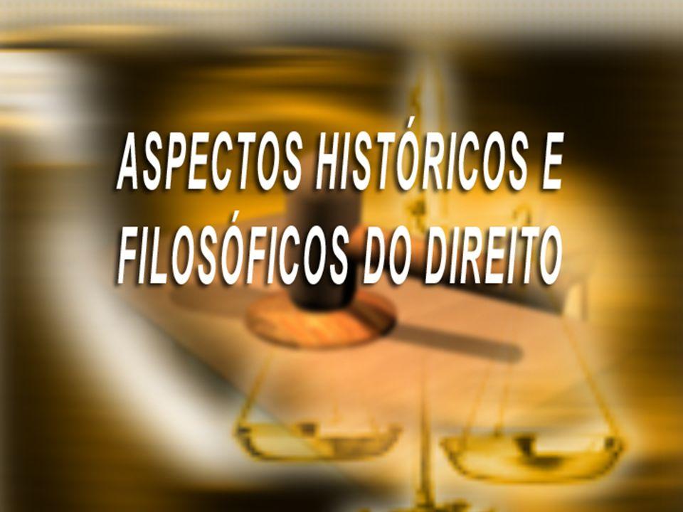 ASPECTOS HISTÓRICOS E FILOSÓFICOS DO DIREITO Tema 11 e 12: O JUSNATURALISMO, JUSPOSITIVISMO E O NORMATIVISMO JURÍDICO.