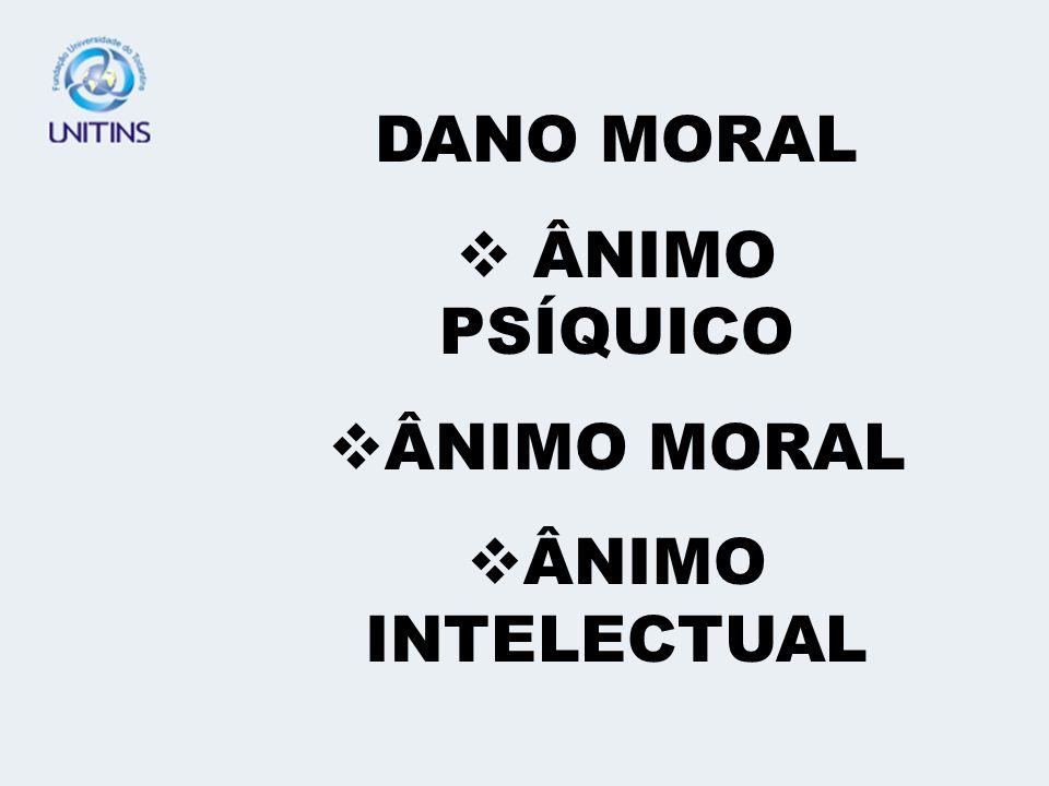 DANO PATRIMONIAL – MATERIAL DANO EXTRAPATRIMONIAL – MORAL